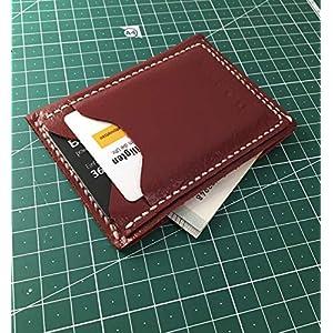 Kartenhalter,Card holder aus echtem Leder, Made in Germany (Hand Made)