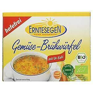 Erntesegen Bio Gemüsebrühe -hefefrei-, Brühwürfel, 66 g