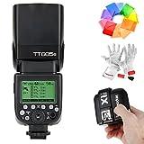 Godox TT685S flaş HSS 1/8000s GN60TTL kamera flaşı Flash Speedlite X1T-S 2.4G TTL için kablosuz flaş uyarıcı Sony DSLR Kameralar ile çok aşamalı interface Shoe A77II A7RII A7R A58A99ILCE6000L Ildc kamera