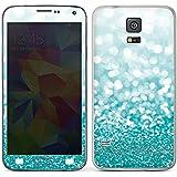 Samsung Galaxy S5 Case Skin Sticker aus Vinyl-Folie Aufkleber Glitzer Glanz Glitter