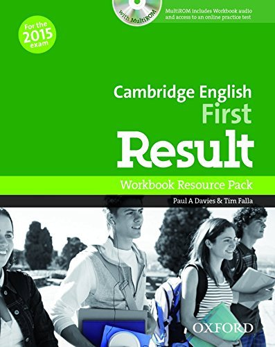 Cambridge English: First Result: Workbook Resource Pack without Key by Paul A davies Tim Falla (21-Aug-2014) Perfect Paperback