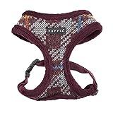 Puppia PAQD-AC1465 Eldric Harness A, Geschirr, S, Dunkelrot