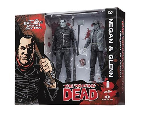 Walking Dead Negan Glenn Black & White Action Figure Set SDCC 2016 Skybound Exclusive by Skybound Entertainment 1
