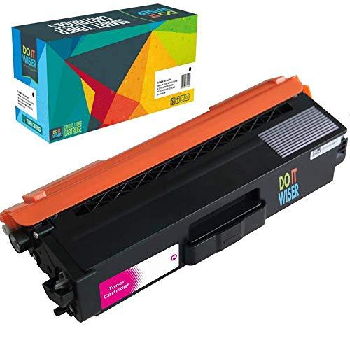 Do it Wiser Toner Kompatibel TN-326M für Brother HL-L8250CDN MFC L8650CDW HL-L8350CDW MFC L8850CDW MFC-L8600CDW DCP L8400CDN DCP L8450CDW (Magenta) (Brother Toner-l8600cdw)