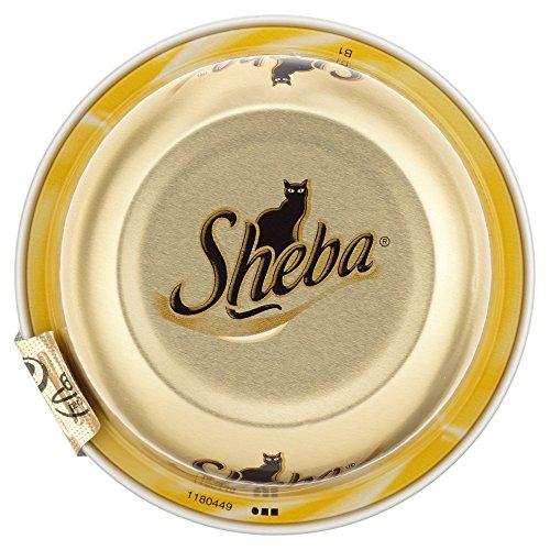 Sheba Filet mit Hühnchenbrust Schale Katzenfutter, 80 g