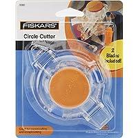 Fiskars Cortador de círculos con 2 Cuchillas de Repuesto 93807097