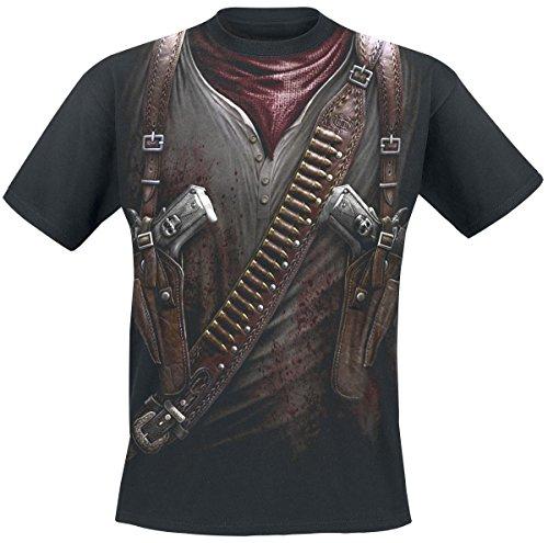 Spiral Holster Wrap T-Shirt nero L