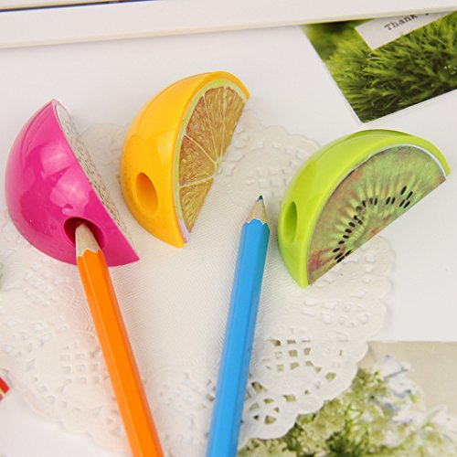 RIANZ ALL New Design Fruit shaped Pencil Sharpeners (Set of 5)