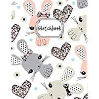 """Sketchbook: Bunnies Blank Drawing Book For Girls & Boys 