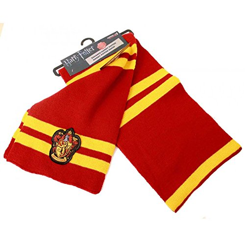 Harry Potter Schal House Gryffindor Emblem Patch Logo Nue offiziell