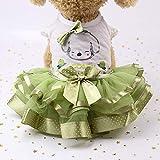ouying1418 Netter Hund Hochzeit Kleid-Rock-Sommer-Haustier-Kleidung Frucht-Entwurfs-Hundegeschirr Kleid