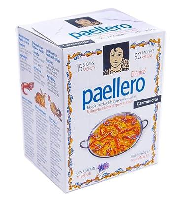 Carmencita Paella Seasoning 15 Sachets from Proaliment Jesus Navarro S.A.