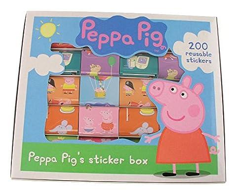 Anker ANK1272/PEBX2 - Peppa Pig Aufkleber-Box (Künstler Kostüm-ideen)
