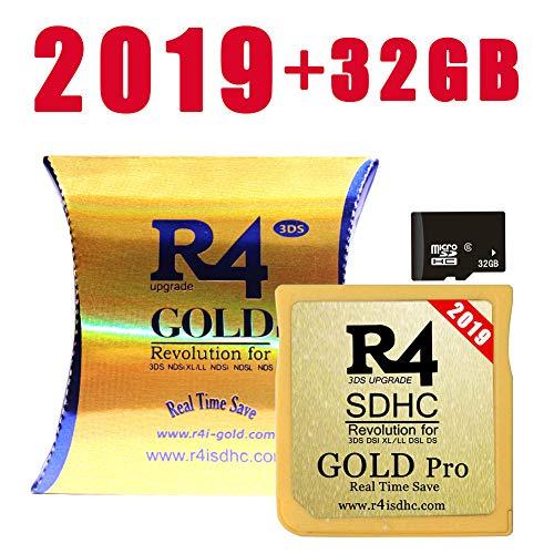 SDHCKING 2019 Gold Pro SDHC e 32GB TF Card per DS DSI 2DS 3DS, già scaricato UK DE FR IT ES Kernel