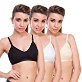 #2: Bodylable cotton Women Lingeries set pack of 3 in Multicolor