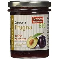 Germinal Bio Composta Prugna - 3 pezzi da 200 g [600 g]