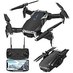 Idea Regalo - EACHINE E511S Drone GPS Telecamera HD 1080P Pieghevole Drone con WiFi FPV App Controllo Selfie modalità Seguire 2.4GHz