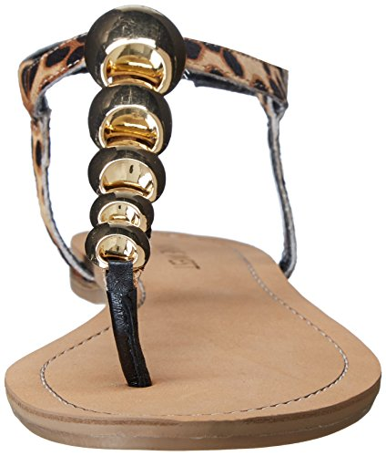 Nine West Spotter Cuir Sandales Natural