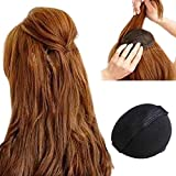 Hongch 2Pcs Hair Pad Decoration Rise Higher Self Adhesive For Daily Women Girls Hair Accessory