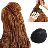 MSmask 2Pcs Hair Pad Decoration Rise Higher Women Girls Hair Accessory Self Adhesive