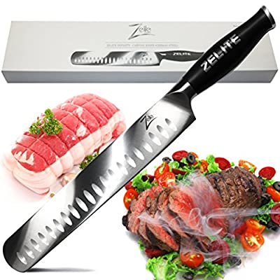 "Zelite Infinity Slicing Carving Knife - Comfort-Pro Series - High Carbon Stainless Steel Chef Knives X50 Cr MOV 15 >> 12"" (305mm)"