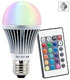 Luminea LED Farbwechsel Lampe (E27)