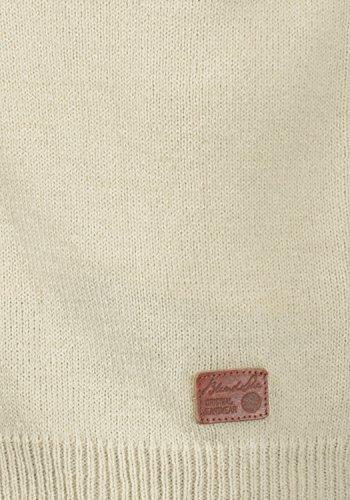 BLEND SHE Nena - Veste en Maille - Femme Bone White (70016)