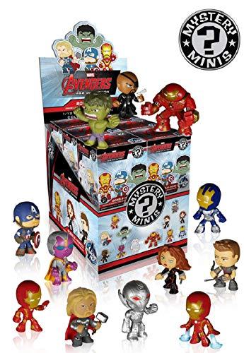 lootchest Funko Mystery Minis - Marvel: The Avengers 2 - Age of Ultron - 1 zufällige Wackelkopffigur (ca. 6,5 cm)