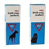 1 Flasche Vetyl- Bleib WEG Sprayer 100ml für Hund und Katze für außen