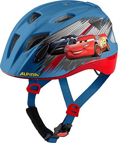 Alpina Jungen XIMO Disney Fahrradhelm, Cars, 47-51 cm