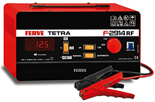 FERVE F-2914 Cargador Automático Baterías Plomo
