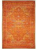 Benuta Teppich Liguria Gelb 120x180 cm | Moderner Teppich für Wohn- und Schlafzimmer