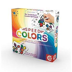 Game Factory 646193 Speed Colors – Juego para Colorear, Juego Infantil, a Partir de 5 años