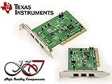 Kalea Informatique Karte CONTROLEUR FireWire 800IEEE1394b auf Port PCI–3Ports Chipsatz Texas Instrument sn082aa2