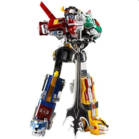Voltron 30th Anniversary Collector'S Set Die-Cast Limited Edition