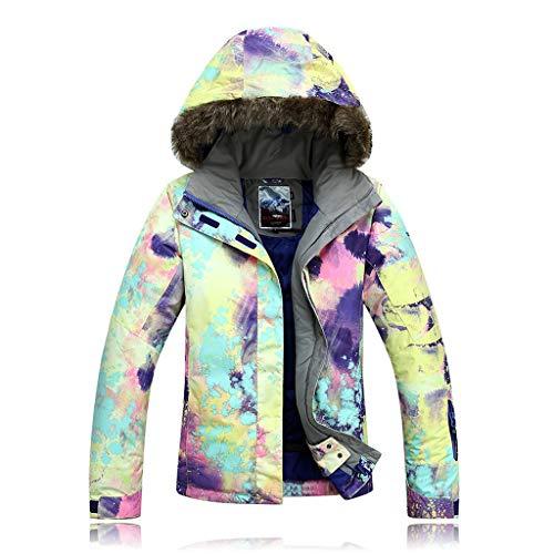 APTRO Damen Skijacke warm Jacke gefüttert Winter Jacke Outdoor Funktionsjacke Regenjacke Bunte 921 S