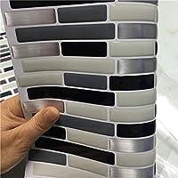 Heißer Verkauf 1 Stück 23,5x25 Cm Selbstklebende Wandfliesen Aufkleber 3D  Wandaufkleber Tapeten Removable Küche