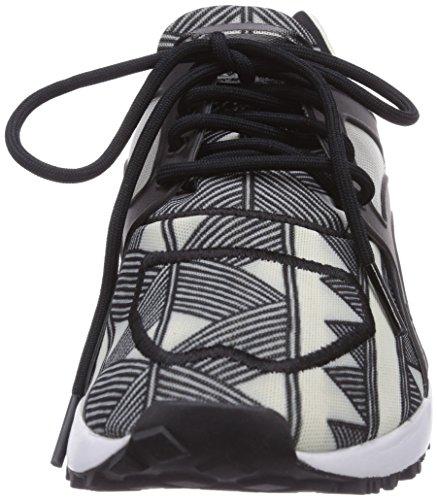 Adidas Originals Racer Lite, Chaussons Sneaker Femme Noir (Core Black/Core Black/Off White)