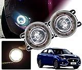 #3: Auto Pearl - Premium Quality Car High Power 9 DRL LED DDEL Fog Light For - Maruti Suzuki Swift Dzire 2017