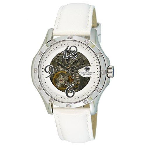 Constantin Durmont it's_amaz-reloj Prelude analógico automático piel CD-PRELAODASH@DASHAOLTWH-STST-WHD
