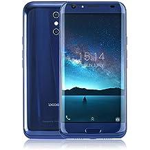Smartphone Libre,DOOGEE BL5000(2017)Smartphone Móvil Libre 4G Android 7.0 Teléfono Celular(4GB RAM + 64GB Rom, Dual Cámara 13 MP+13MP,MT6750T Octa-core 1.5GHz, 5.5 Pulgadas 1920x1080 FHD Pantalla, 5050mAh Batería) - Azul