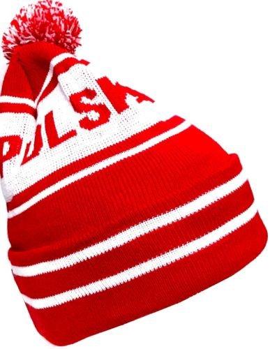 Polska Mütze mit Bommel