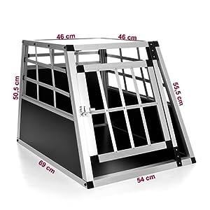 Happypet® DGTC03 Cage de Transport pour chien
