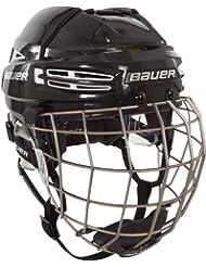 Bauer Reakt 100 casco Combo - Negro, Grande