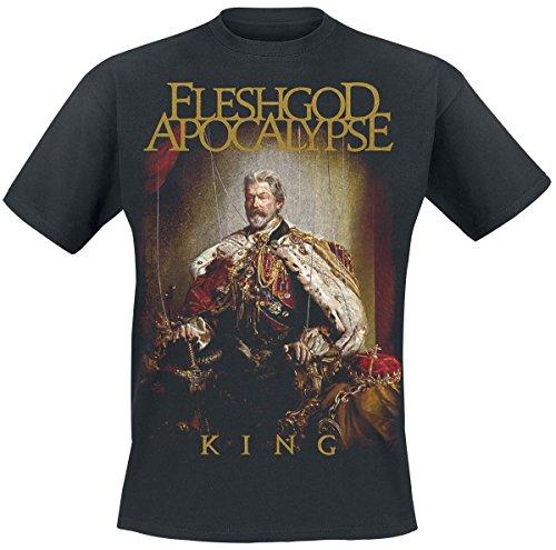 Fleshgod Apocalypse King T-Shirt nero L