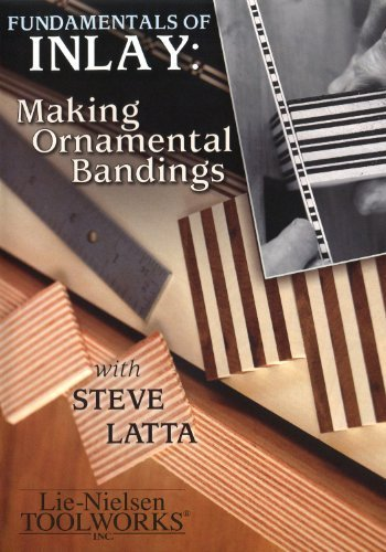 Fundamentals of Inlay - Making Ornamental Bandings - Latta (DVD)