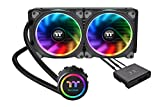 Thermaltake CL-W167-PL14SW-A Radiatore CPU, RGB