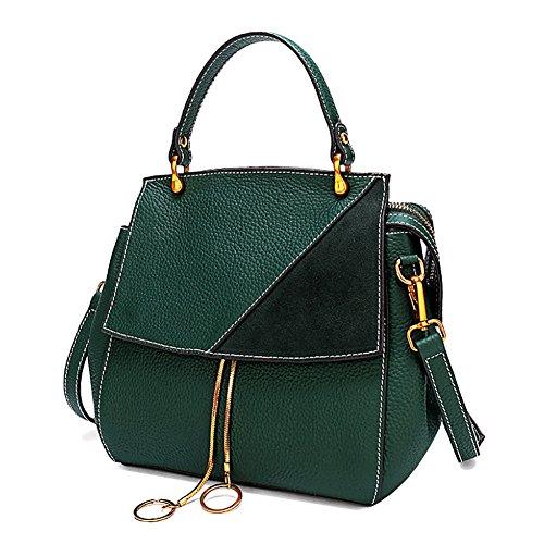 A In Da In Verde Con Borsa Donna Bag Pelle Spalla Ecopelle Tote wF1gxq