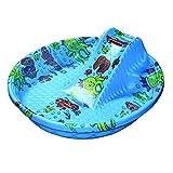 Bebes y niños .Mi primera piscina con tobogan. 119X120X37CM
