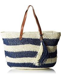 Womens Cabas Paille Tressée Top-Handle Bag Molly Bracken xfmcgZd6Gv